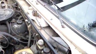 Замена и ремонт замка капота ВАЗ.Replacement and repair of bonnet lock ВАЗ.