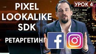 Как настроить ретаргетинг Facebook и Instagram. Установка Pixel и SDK | SHERBAKOV SMM | УРОК 4