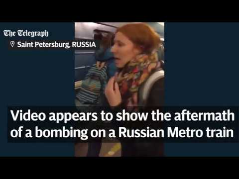St Petersburg Metro explosion At least 10 dead after shrapnel filled device explodes in terror attac