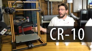CR 10 3D Printer First Impressions - Less Than $400?