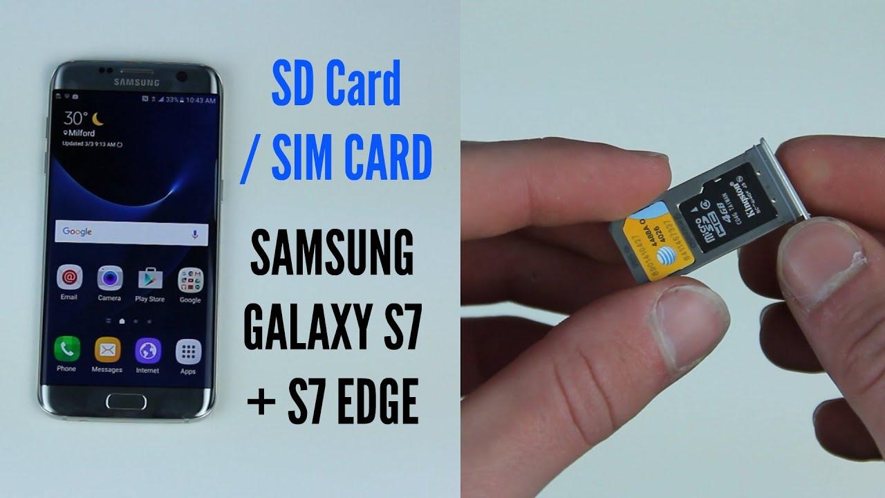 Samsung Galaxy S7 Sim Karte.Tech Sphere Youtube Gaming