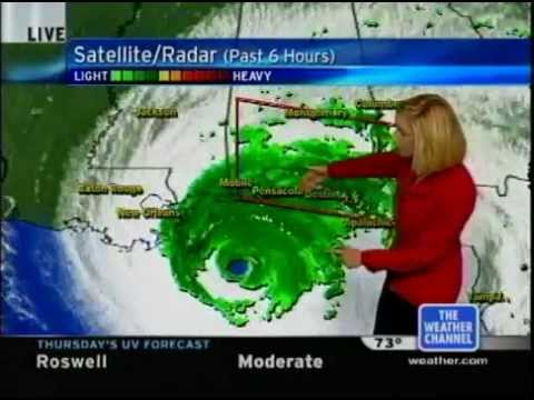 Hurricane Ivan Coverage (9/16/04 - 12am) - The Weather Channel