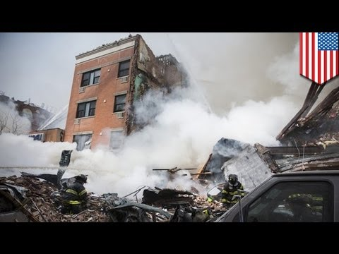 Gas leak blast in New York! Two buildings collapse, killing two and injuring over 50