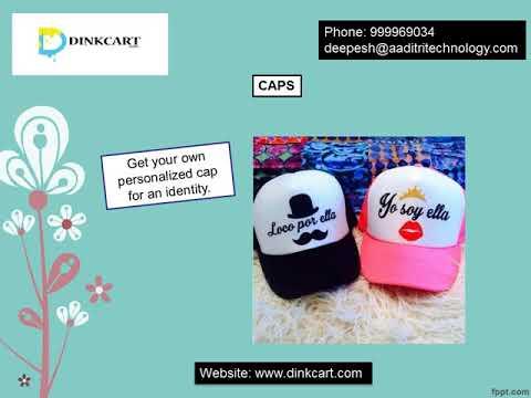Avail mug printing service through online order