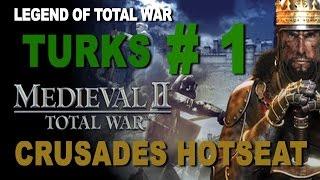 M2TW: Kingdoms Crusades Hotseat - Turks Turn 1