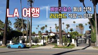 [LA여행] 미국 베버리힐스 집 구경, 그리피스 천문대…