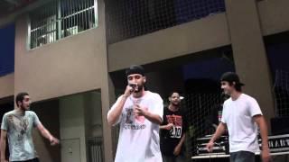 Freestyle - EMICIDA improvisa com JOE SUJERA e EMSOMA