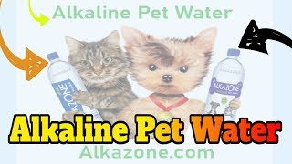 alkaline pet water drops
