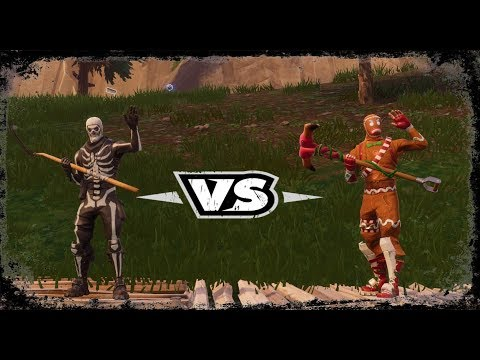 SKULL TROOPER 1vs1 MERRY MARAUDER - Fortnite Battle Royale