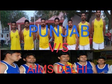 All india open shooting volleyball tournament at faridabaad, haryana