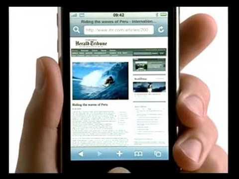 Reklama iPhone 3G w PL - Orange i Era