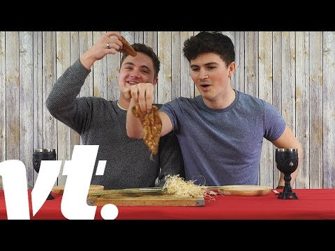 Eating Disgusting Ancient Food Challenge | VT Challenges