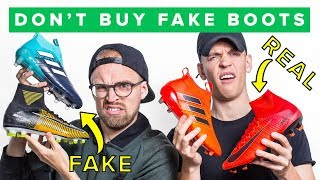 WHY YOU SHOULDN'T BUY FAKE FOOTBALL BOOTS
