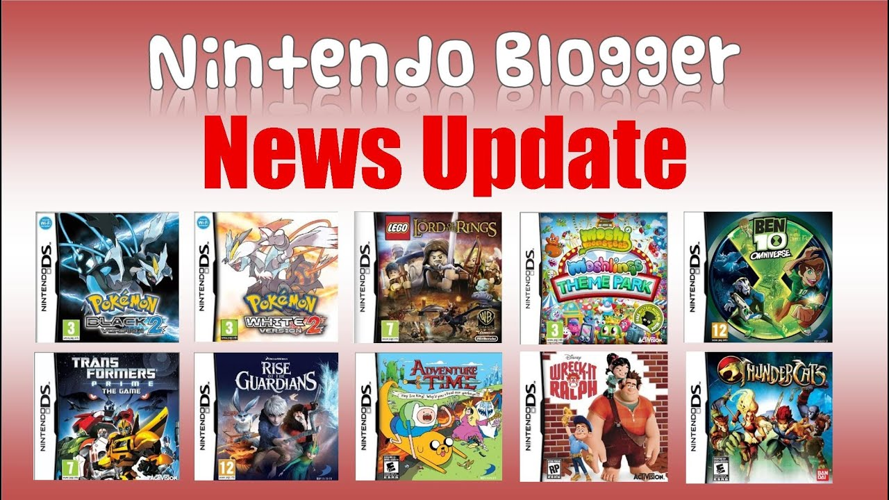 Nintendo News Updates  Upcoming DS Games   Pokemon   Lego