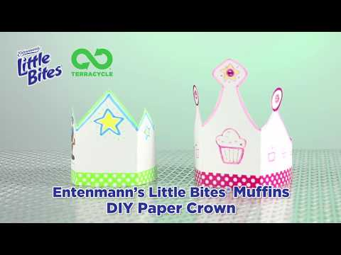 Entenmann's® Little Bites® DIY Paper Crown