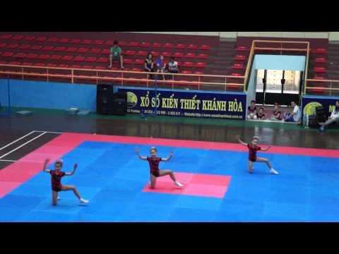 Bài thi thể dục aerobic tiểu học-PGD Nha Trang-HKPĐ Khánh hòa 2012
