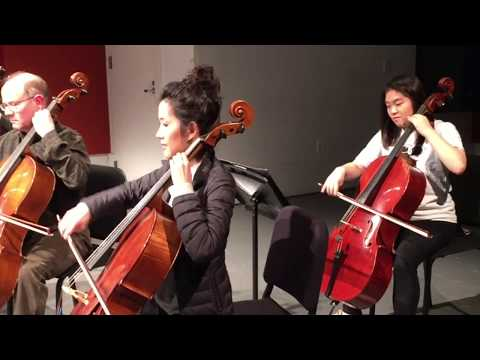 Manhattan School of Music Cello Ensemble February 7, 2018