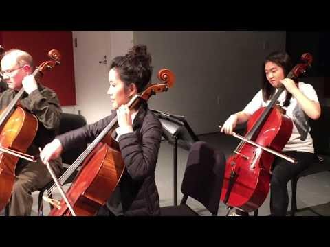 Manhattan School of Music Cello Ensemble February 7, 2018