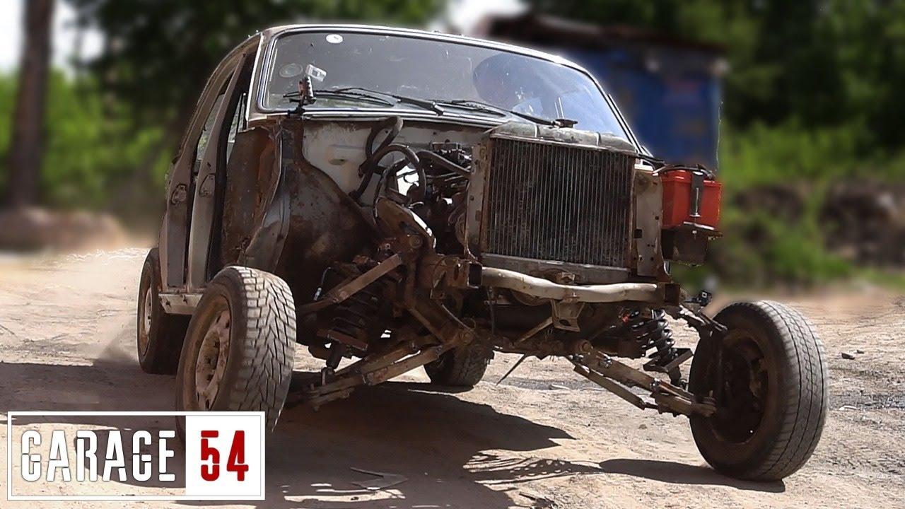 ВОЛГА-ФРАНКЕНШТЕЙН #1 ОГРОМНЫЙ ХОД ПОДВЕСКИ и РАСШИРЕНИЕ БАЗЫ