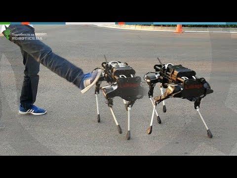 Unitree Laikago – китайский ответ четвероногим роботам Boston Dynamics (Robotics.ua)