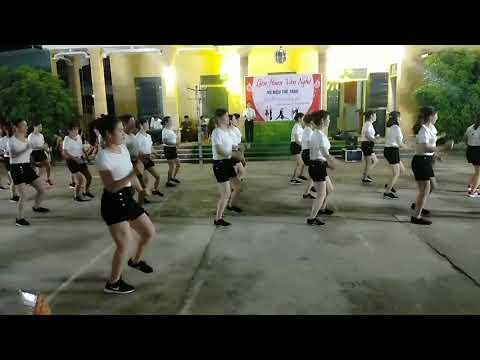 Nhuần Nguyễn Thị CLB Khiêu Vũ Xã đông Xá Giao Lưu Cùng Phú Lương 30/4/2019