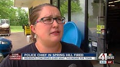 Spring Hill fires police chief