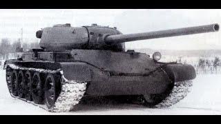 Т-54 зразок 1 в бою