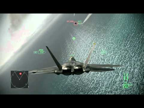 Ace Combat Assault Horizon :: (Mission 1) Nightmare :: (HD) :: Difficulty Ace