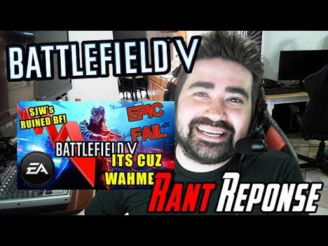 "RE: AngryJoe's Battlefield V ""SJW"" Rant Response! thumbnail"
