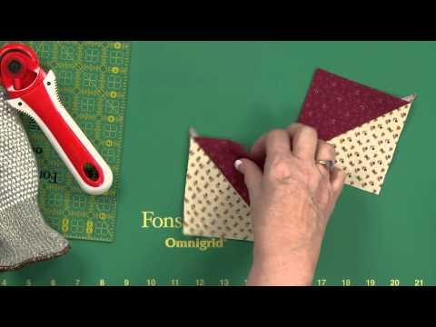 Sew Easy: Quick Hourglass Units