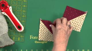 Sew Easy: Quick Hourglass Units