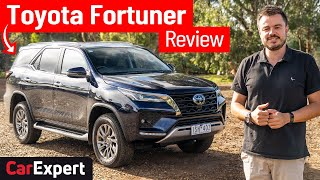 2021 Toyota Fortuner on/off-road review: A HiLux SUV with 7 seats