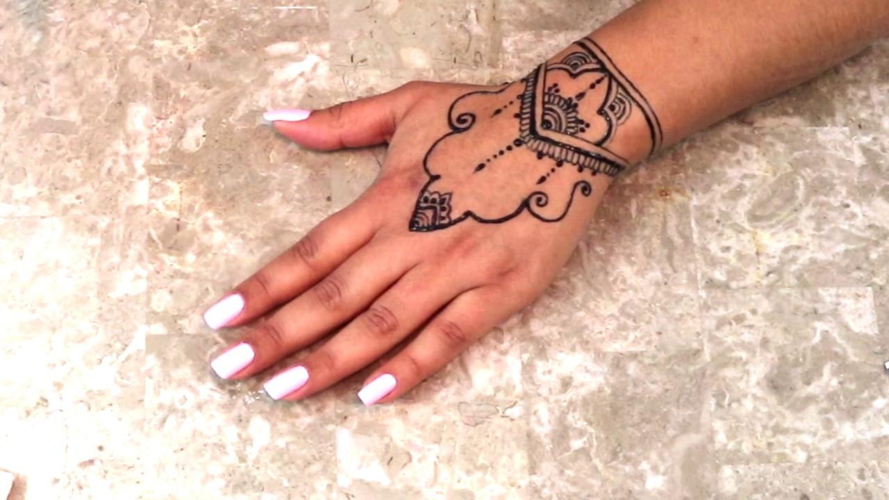 Jagua Tattoo Henna Style Youtube
