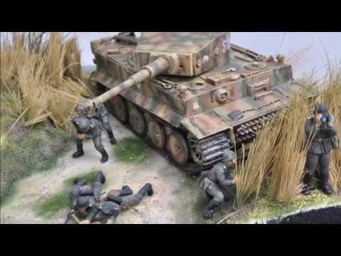 Tiger 1 Blockade Diorama (The making of)