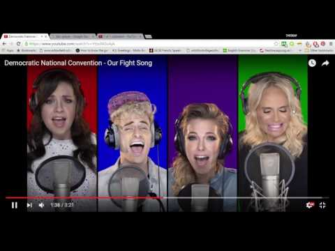 Reacting to 'Democratic National Convention - Our Fight Song'