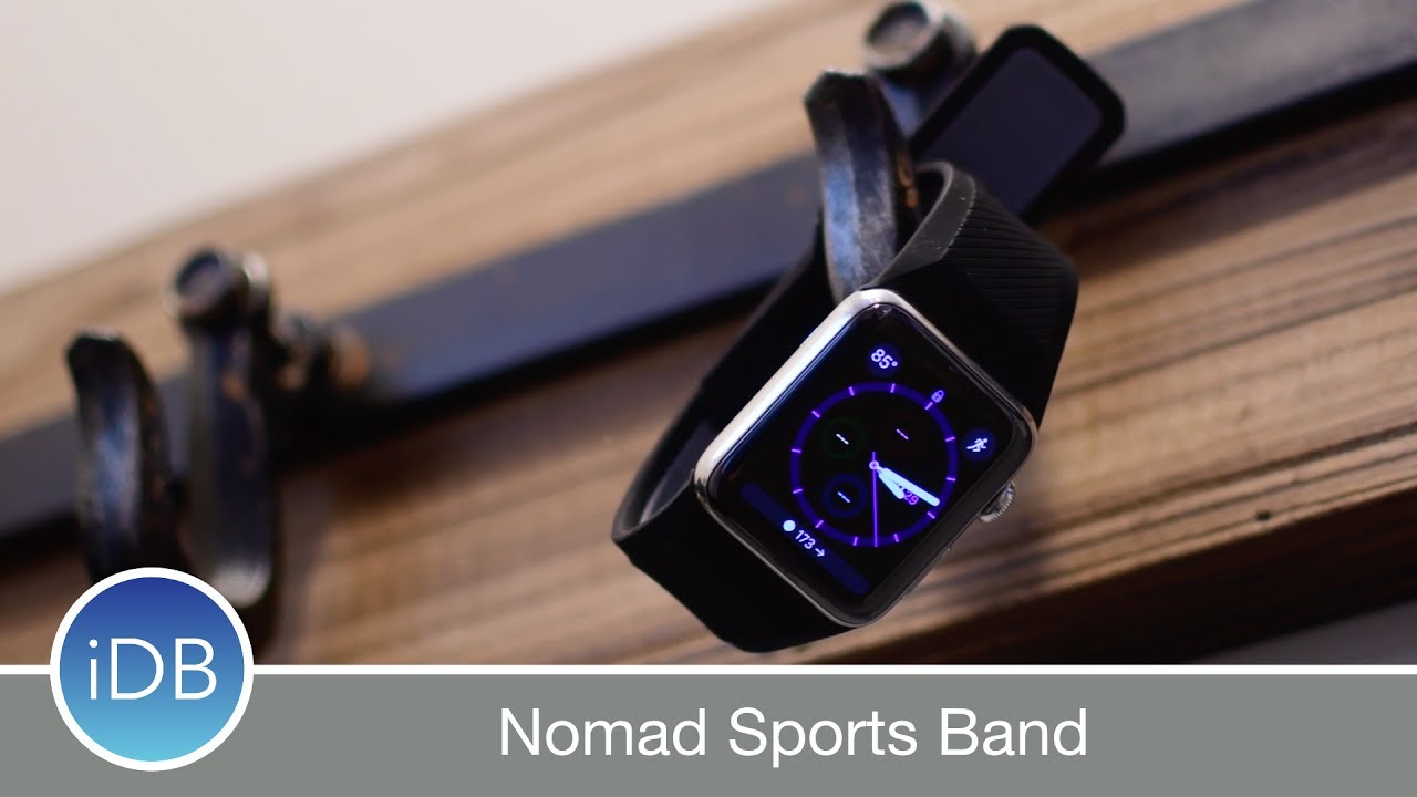 Nomad Releases New Rugged Sports Strap For Le Watch