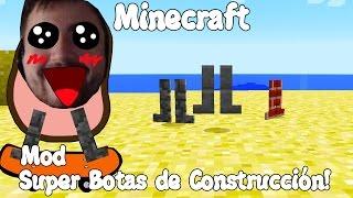 Minecraft 1.7.10 MOD SUPER BOTAS DE CONSTRUCCIÓN! Building Boots MOD Español!