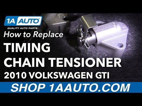 How to Install Timing Chain Tensioner 08-14 Volkswagen GTI