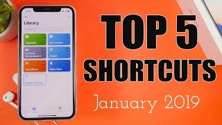 5 MUST HAVE iOS 12 Shortcuts ( January 2019 )