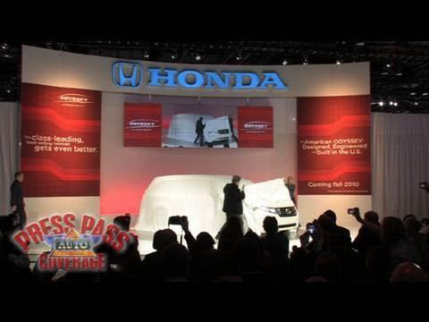 2010 Chicago Auto Show Honda Odyssey Concept Reveal Youtube