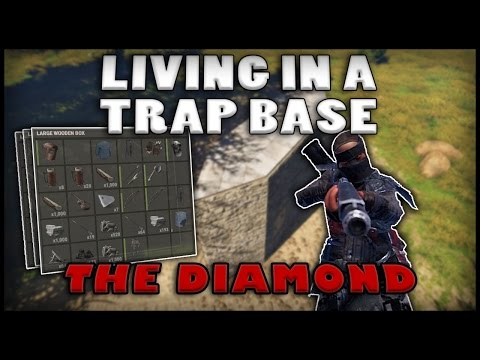 LIVING IN A TRAP BASE - The Diamond (Rust)