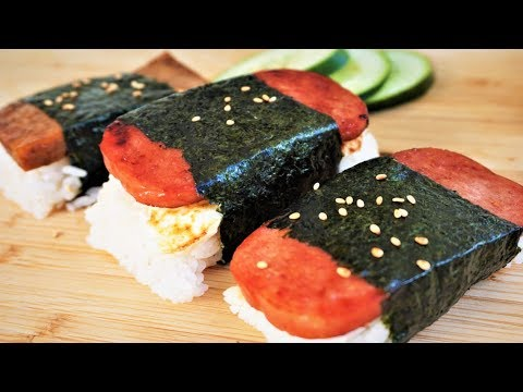 How to Cook SPAM SUSHI (Spam Musubi)- VEGAN Recipe Included!