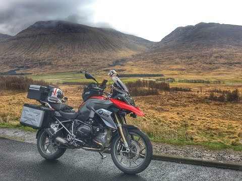Scotland by BMW R1200GS Part 1 - Loch Lomond to Glencoe on the North Coast 500