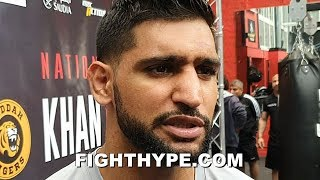 """AMIR KHAN PREDICTS """"EASY"""" SPENCE VS. PORTER; STILL EYES PACQUIAO AND BROOK AFTER GOYAT CLASH thumbnail"""