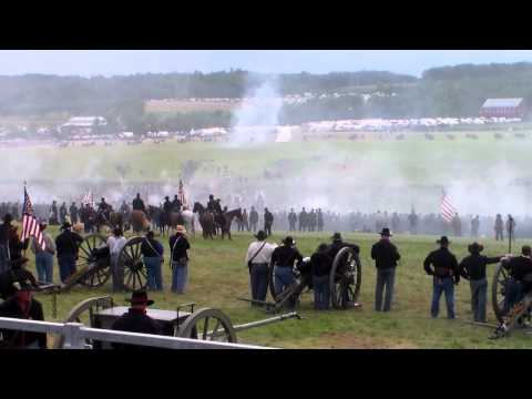 Fuger Reunion: Re-enactment of Pickett's charge