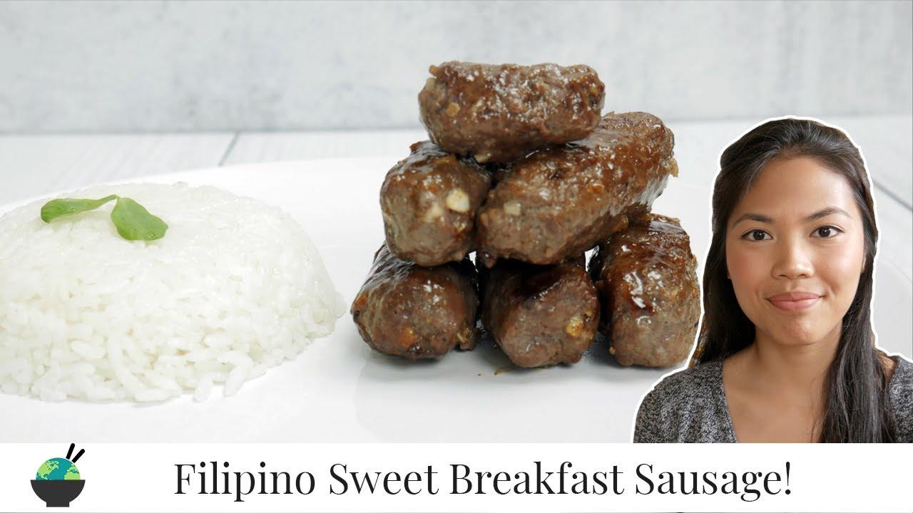 Skinless Filipino Beef Longganisa