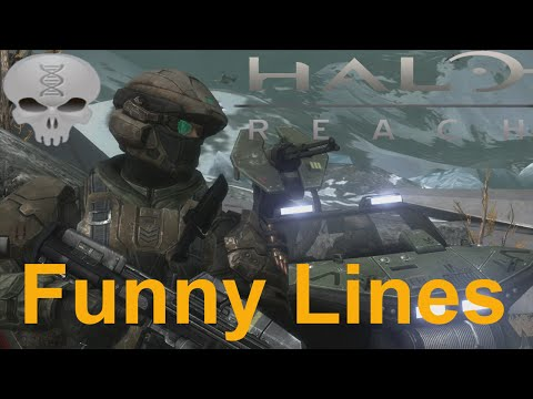 Lines of Halo - Halo Reach Marines (funny dialogue)