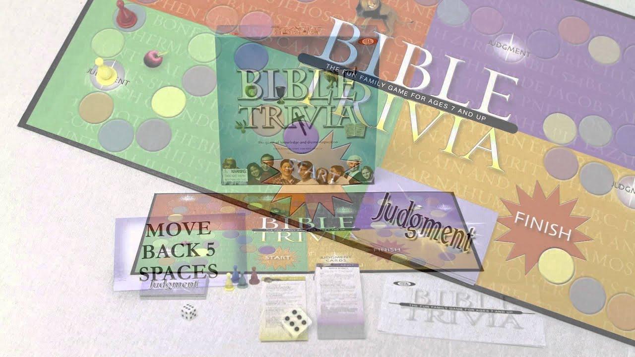 Ideal Bible Trivia Board Game
