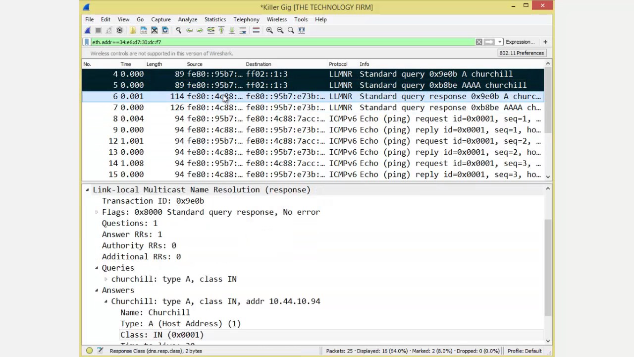 Saving Specific Packets With Wireshark 2
