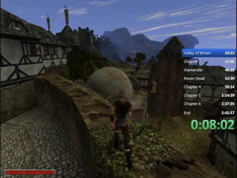Gothic 2 (NotR) glitchless speedrun in 1:27:55